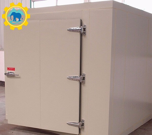 Installation Method Of Refrigerating Compressor Unit In Industrial Cold Room